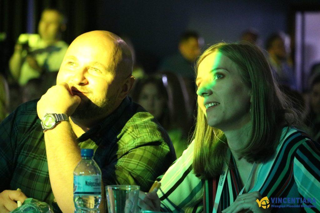 Członkowie Jury - Pani Barbara-Mazur i Pan Jakub Blycharz